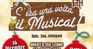 locandina c'era una volta il musical tuttiateatro teatro isola del giglio giglionews