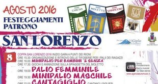 san lorenzo 2016 programma locandina isola del giglio giglionews