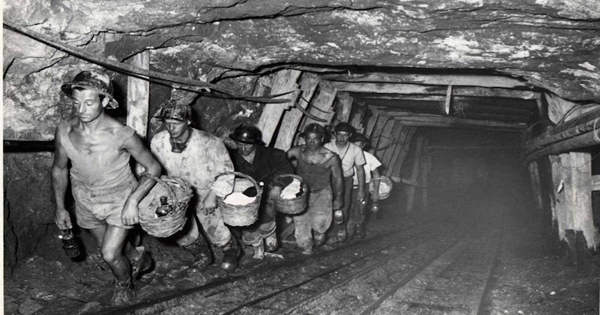 locandina miniera isola del giglio giglionews