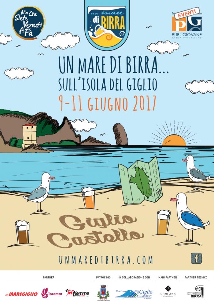 un mare di birra isola del giglio giglionews