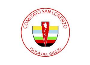 logo comitato san lorenzo isola del giglio giglionews