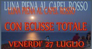 eclisse totale luna capel rosso isola del giglio giglionews