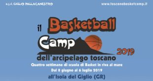 basketball football camp arcipelago toscano isola del giglio giglionews