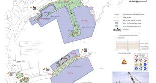mappa lavori portuali ordinanza isola del giglio giglionews