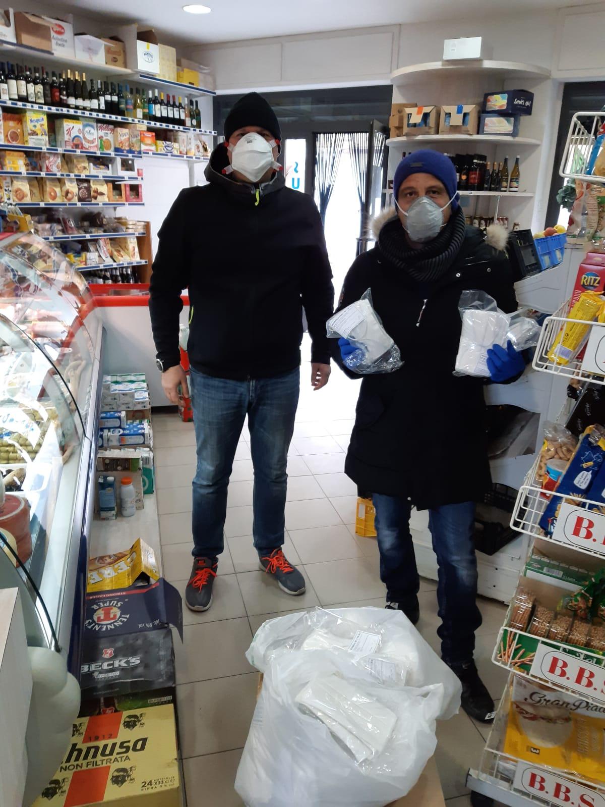 coronavirus mascherine carabinieri consorzio imprese isola del giglio giglionews