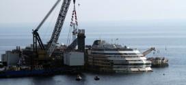 rimozione concordia installazione cassone s3 isola del giglio giglionews
