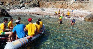 cala monella pulizia spiagge legambiente isola del giglio giglionews