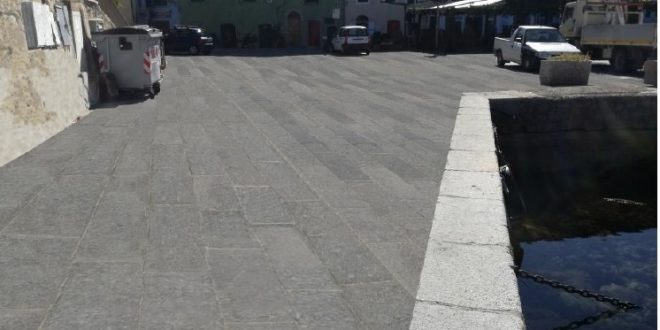 pavimentazioni pavimentazione lavori comune isola del giglio porto giglionews