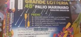 lotteria palio marinaro isola del giglio giglionews