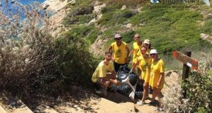 pulizia cala smeraldo isola del giglio giglionews