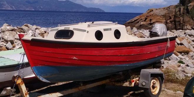 vendo barca vela isola del giglio giglionews