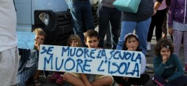 protesta sciopero scuola giglionews isola del giglio