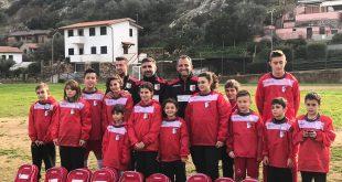 scuola calcio ringraziamenti isola del giglio giglionews