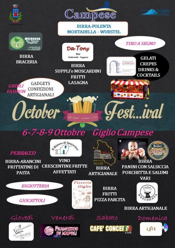 october festival isola del giglio campese giglionews