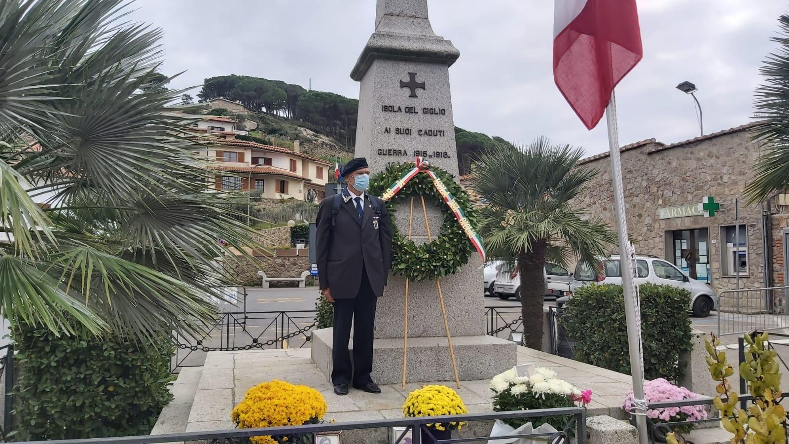 omaggio caduti 4 novembre isola del giglio giglionews