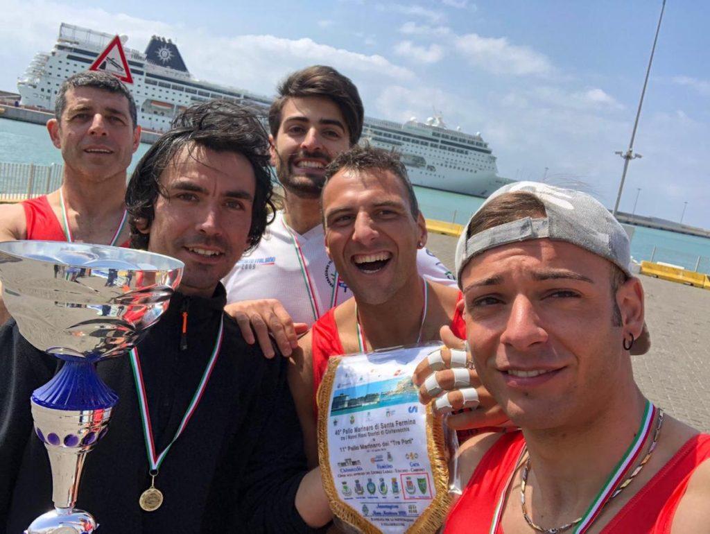 palio tre porti civitavecchia vittoria isola del giglio giglionews