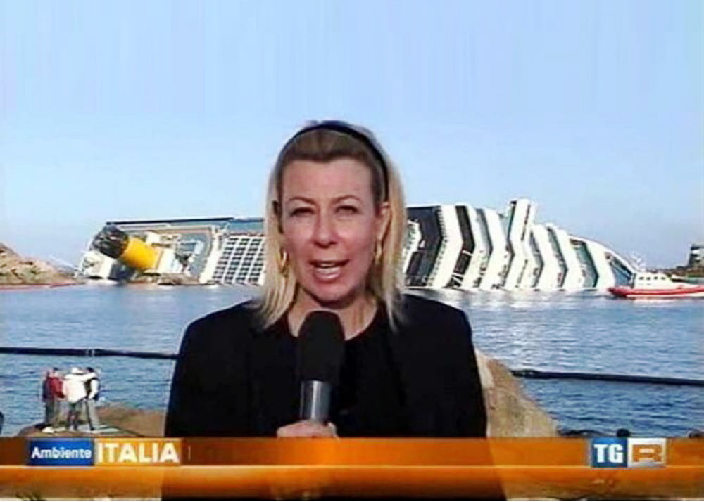 paola nappi giornalista rai isola del giglio giglionews concordia