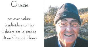 Ringraziamenti per Paolo Nesti