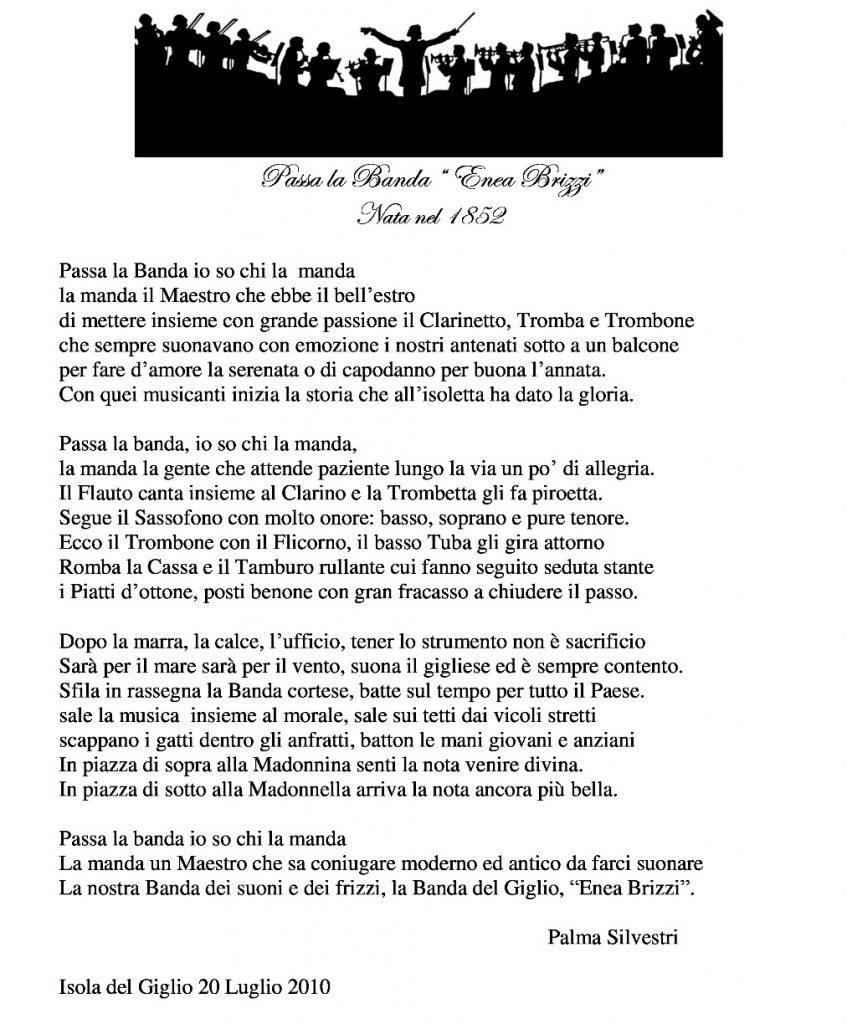premio letterario palma silvestri banda enea brizzi isola del giglio giglionews