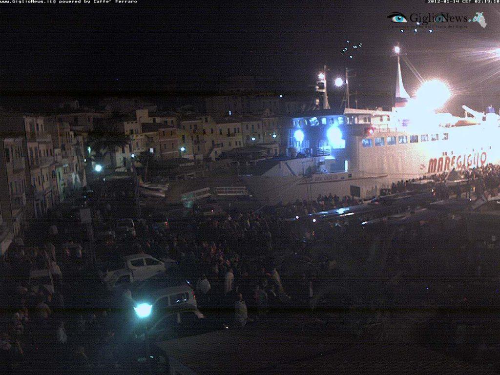 il grande cuore dell'isola webcam naufragio concordia isola del giglio giglionews