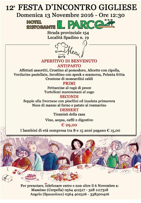 festa d'incontro gigliese pranzo grosseto isola del giglio giglionews