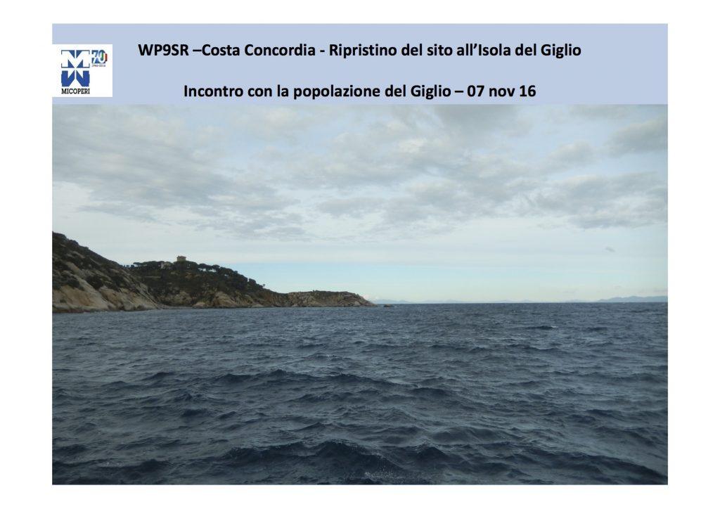 pulizia fondali resoconto presentazione isola del giglio giglionews osservatorio