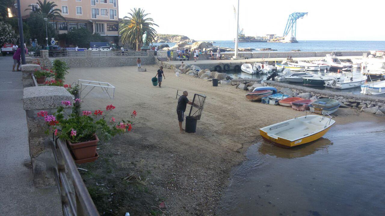 pulizia volontari isola del giglio giglionews