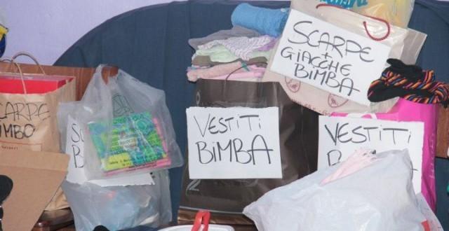 raccolta abiti caritas gruppo missionario isola del giglio giglionews