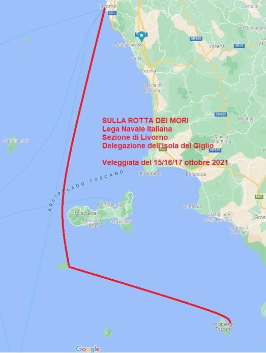 sulla rotta dei mori vela lega navale isola del giglio giglionews