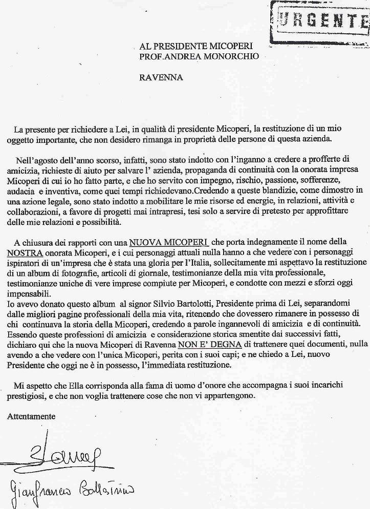 lettera melis bartolotti micoperi isola del giglio giglionews