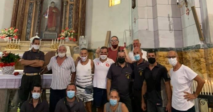 san lorenzo parrocchia vigili del fuoco volontari isola del giglio giglionews