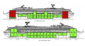 schema installazione cassoni rimozione concordia refloating isola del giglio giglionews