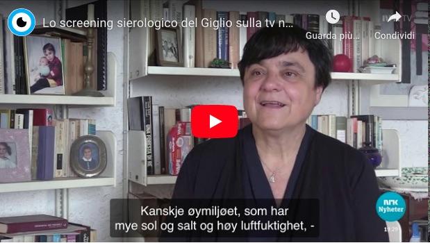 screening sierologico tv norvegese isola del giglio giglionews