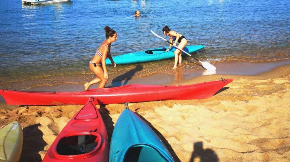 scuola kayak isola del giglio campese giglionews