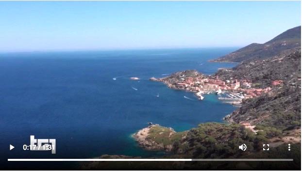 servizio tg1 video estate italiana isola del giglio giglionews