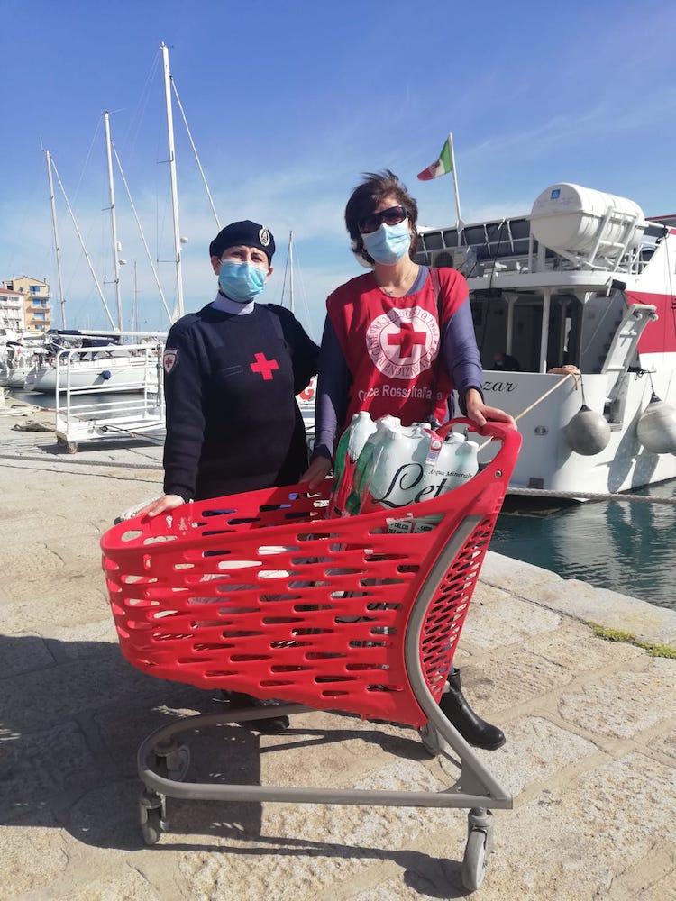 croce rossa costa argento giannutri isola del giglio giglionews