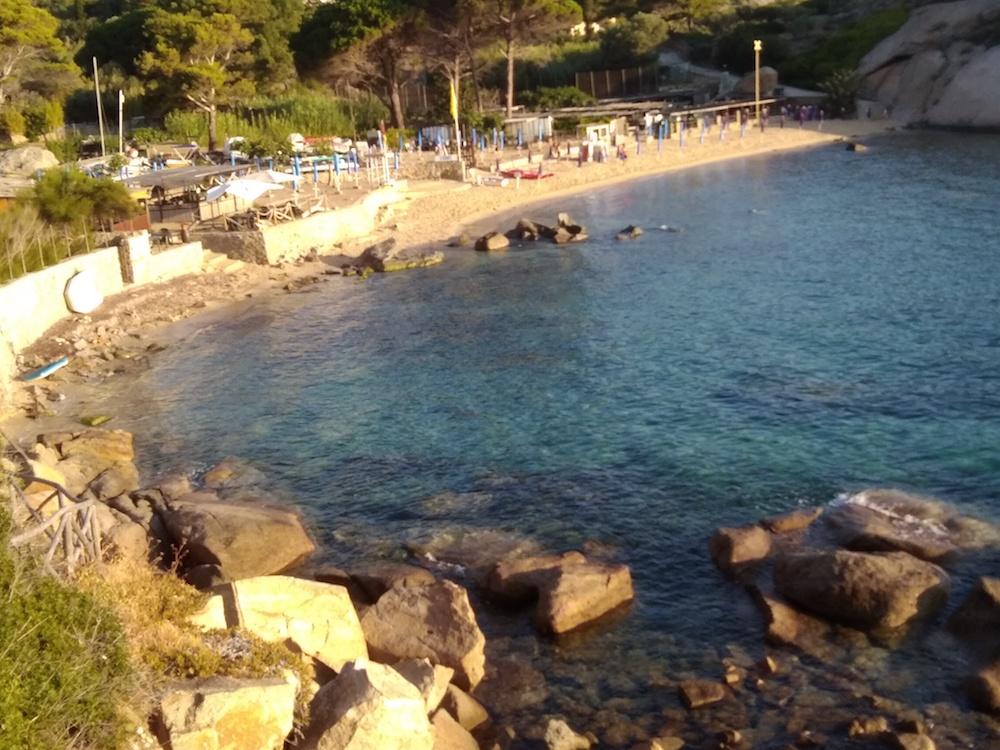 spiaggia arenella isola del giglio giglionews