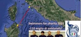 swimmers for charity isola del giglio sardegna la maddalena giglionews
