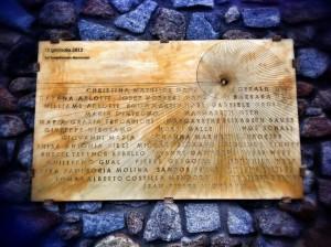 naufragio concordia refolo libeccio anniversario concordia targa michele taddei isola del giglio giglionews