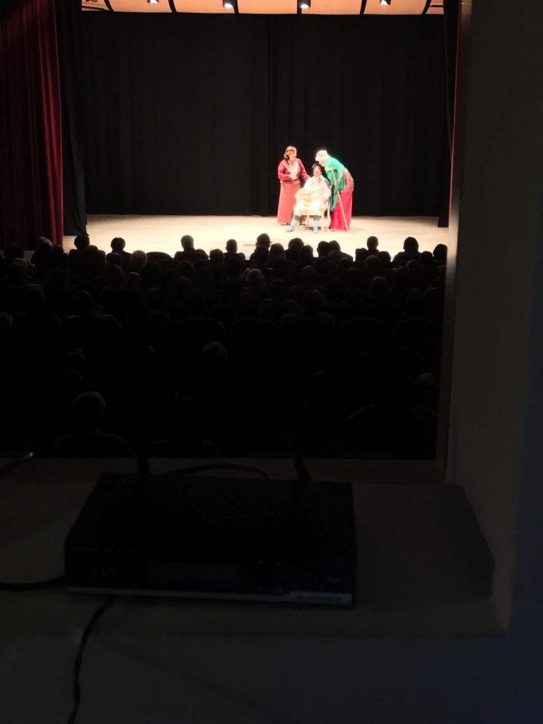 teatro santa fiora isola del giglio giglionews