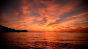 tramonto morte saluto chi parte isola del giglio giglionews