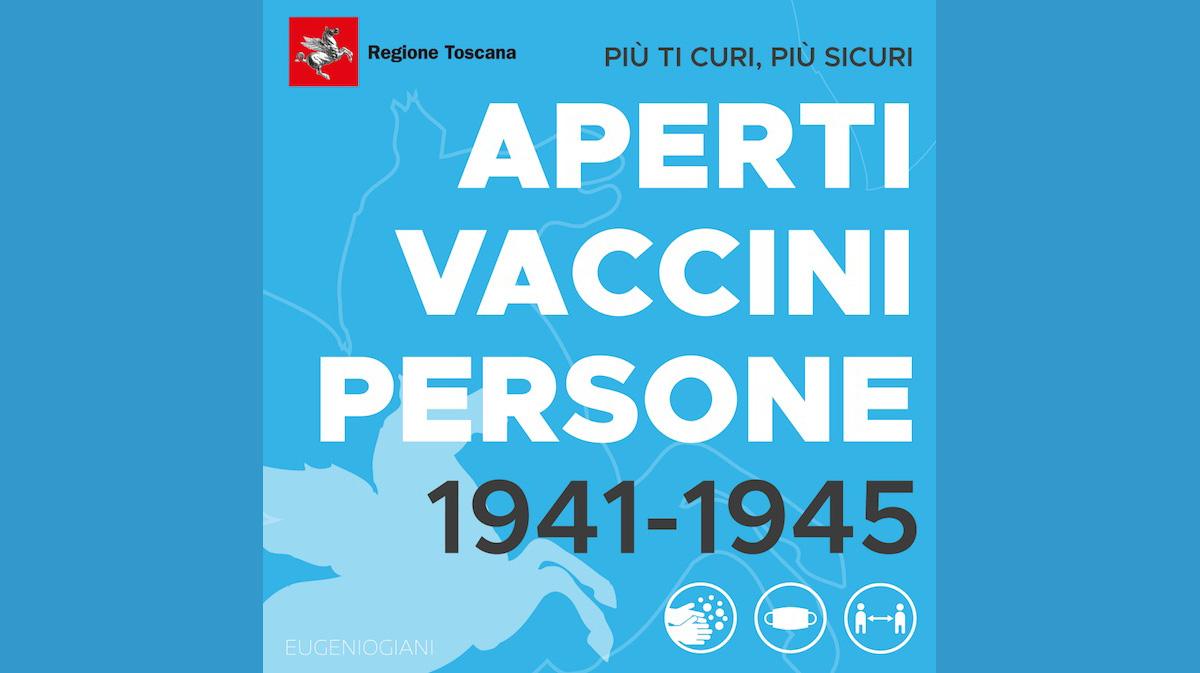 vaccini classi 41 42 43 44 45 regione toscana astrazeneca isola del giglio giglionews misericordia