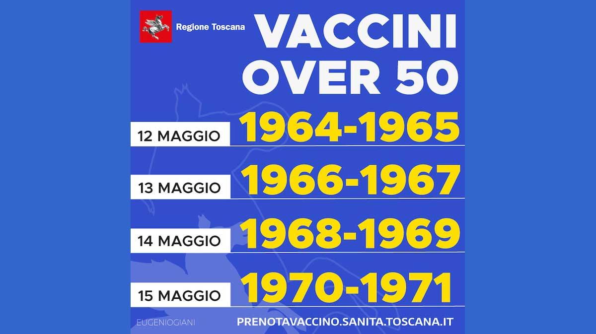 vaccini over 50 regione toscana isola del giglio giglionews