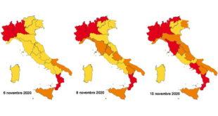 contagio area rossa arancione gialla isola del giglio giglionews