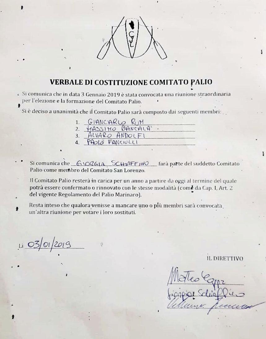 comitato palio marinaro san lorenzo isola del giglio giglionews