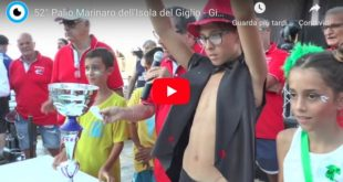 palio marinaro video classifiche isola del giglio giglionews