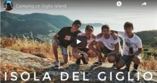 """Camping on Giglio island"": il video di Tommaso"