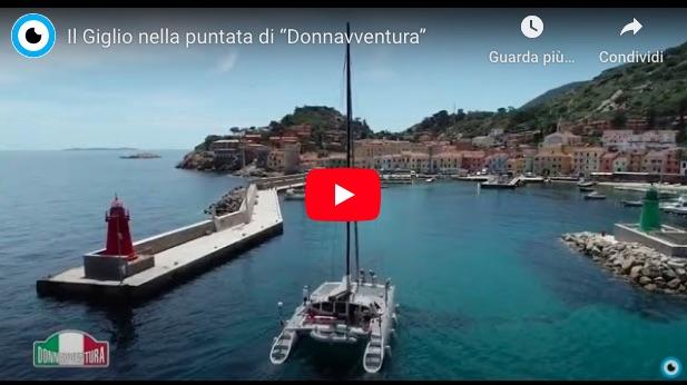 video trasmissione donnavventura isola del giglio giglionews