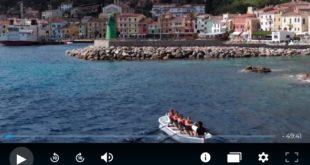 video puntata lineablu isola del giglio giglionews