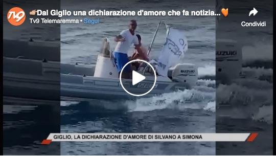 video silvano simona dichiarazione isola del giglio giglionews